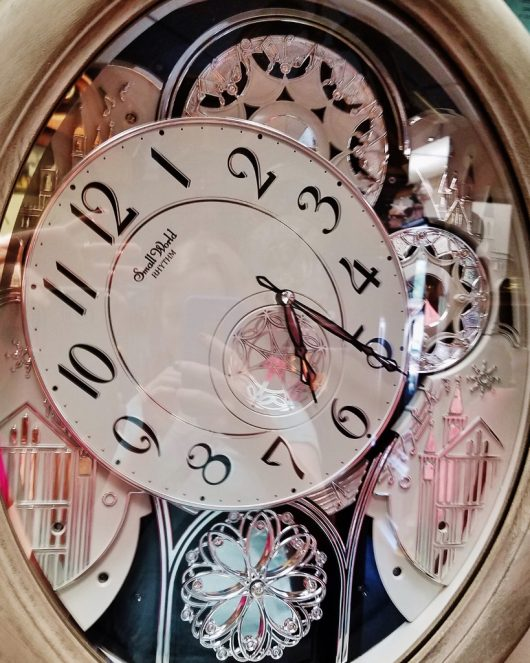 changing face of time